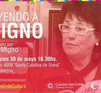 «Leyendo a Julio Migno» llega a la ciudad de San Guillermo