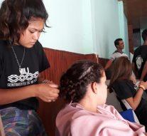 Último ensayo en San Cristóbal de la obra «Santa Fe de mi querer»