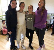 Bailarinas de San Guillermo fueron evaluadas por la Fundación Julio Bocca