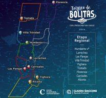 Continúan disputándose las instancias regionales del Torneo provincial de Bolitas