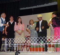 Villa Trinidad: A sala llena se presentó «Las d'enfrente»