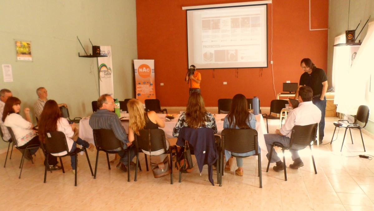 En Tostado se reunió la «Usina Cultural VI»