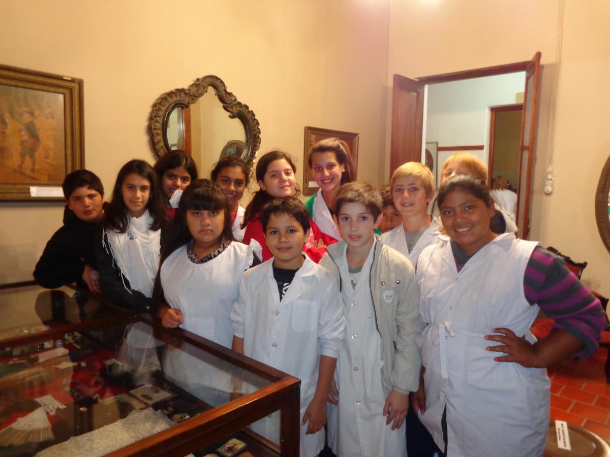 Alumnos de Tercer Grado visitaron el Museo Histórico Regional
