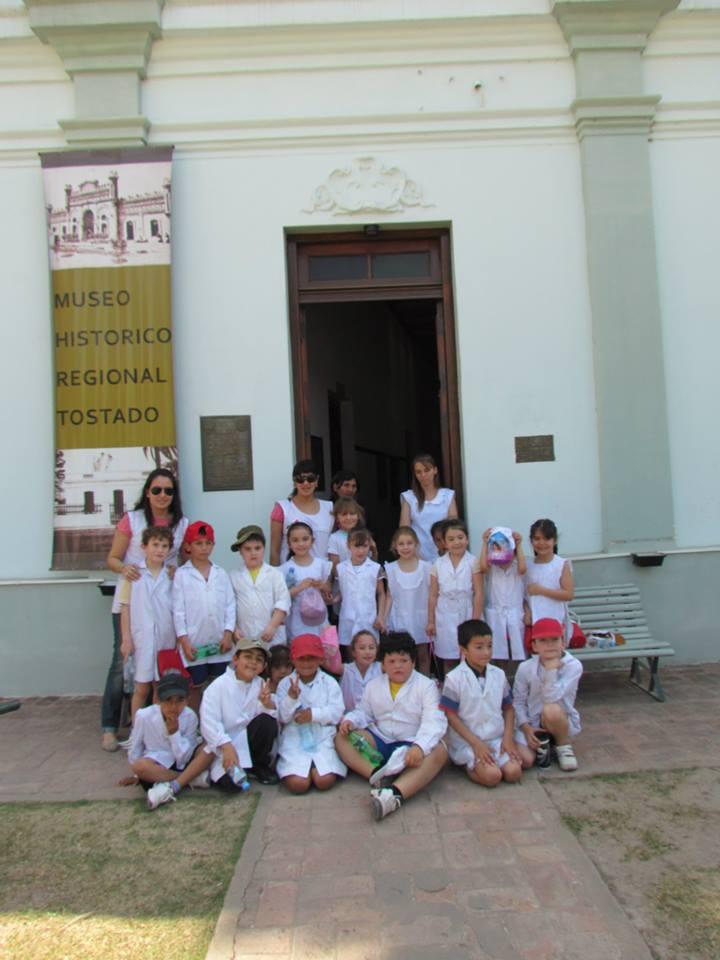 Tostado: Alumnos del Colegio San José recorrieron el Museo Histórico