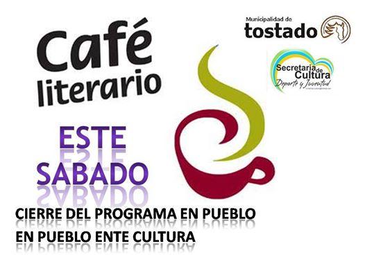 """Se llevará a cabo un """"Café Literario"""" en Tostado"""