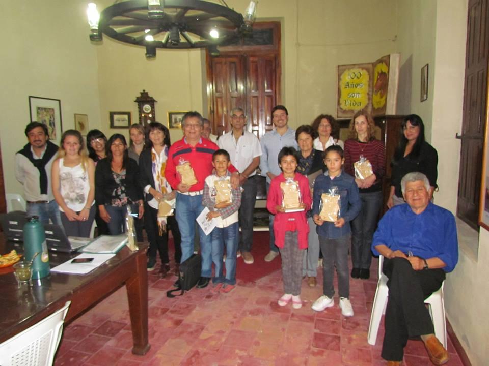 El Café Literario reunió a los escritores de Tostado