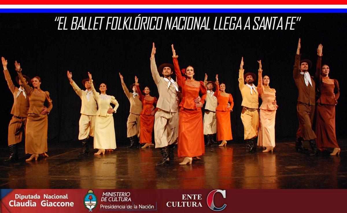 El Ballet Folclórico Nacional llega a Santa Fe
