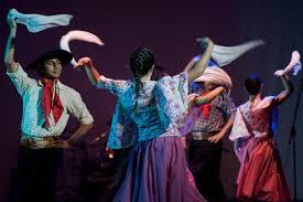 Exámenes de Danzas Folclóricas en Gato Colorado