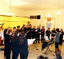 Tostado: El Coro Polifónico se presentó en la Capilla San Cayetano