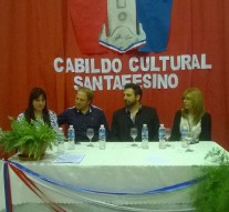 """Gato Colorado abrió las puertas del """"IV Cabildo Cultural Santafesino"""""""