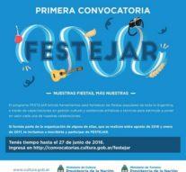 """Abierta la convocatoria para el Programa """"FESTEJAR"""""""