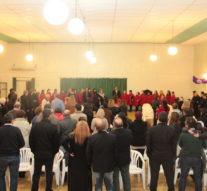 """Emotivo concierto del """"Coro Nacional de Ciegos"""" en Tostado"""