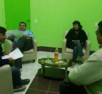 Reunión del Director de la Usina Cultural VI en Villa Minetti