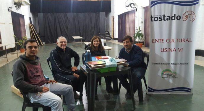 La Usina Cultural VI se reunió en Villa Minetti