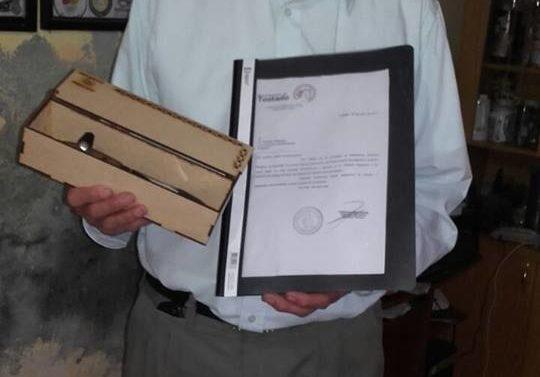 Roberto Sequeira recibió un reconocimiento a su trayectoria chamamecera