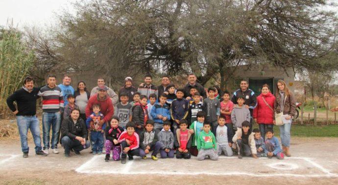 """El """"Torneo Provincial de Bolitas"""" se disputa en los distintos barrios de Tostado"""