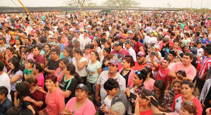 La «Fiesta del Salado» fue todo un éxito en la ciudad de Tostado