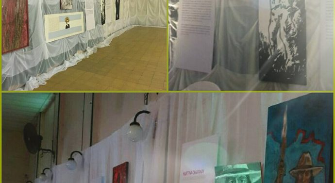 """Se inauguró la Muestra """"Mujeres 200 años"""" en la ciudad de Tostado"""