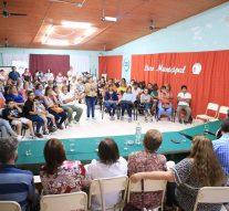 En Tostado se presentaron los Talleres del Liceo Municipal de Bellas Artes