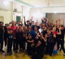 """Bailarines de la Usina VI ensayan para la obra """"Santa Fe de mi querer"""""""