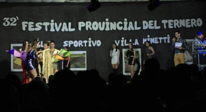 Villa Minetti: Ana Miscovich es la nueva soberana del Festival Provincial del Ternero