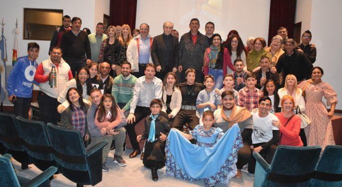 Presentación del Pre Cosquín en Tostado