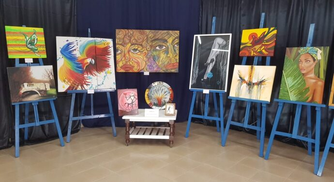 En Tostado se inauguró el «Forma y Color» de la Usina VI