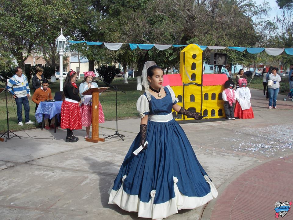 Alejandra celebró el Día de la Patria