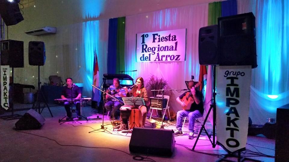 "Se llevó  cabo la Primera ""Fiesta Regional del Arroz"" en Romang"