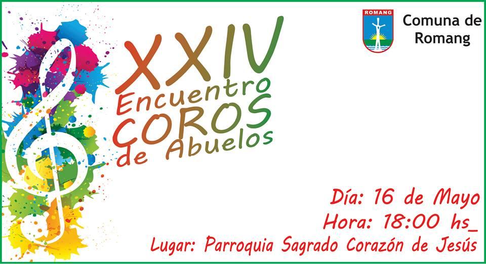 """Romang invita al """"XXIV  Encuentro Coral de Abuelos"""""""