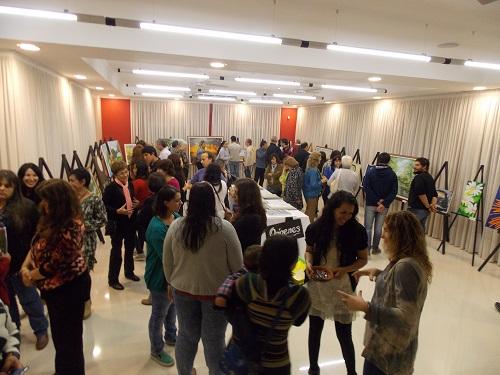 Romang: Apertura de la Muestra de Artistas Plásticos Indepedientes