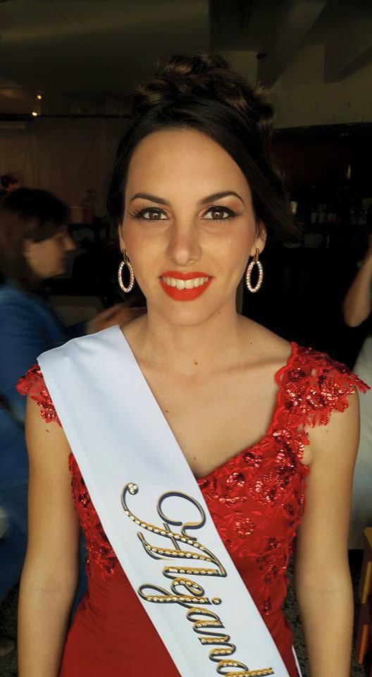 Lucía Camila Pérez Gallay (Alejandra) brilló en la Fiesta Nacional del Folclore Suizo