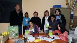 Romang: Entrega de material escolar a Instituciones educativas y culturales