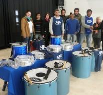 Entrega de 25 instrumentos de percusión en Malabrigo