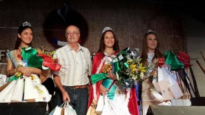 Romang: Selene Furlani, Reina de la 10º Fiesta Provincial del Locro en Margarita