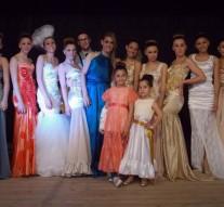 """Alejandra: Virginia Davies presentó su colección de """"Vestidos de Alta Costura"""""""