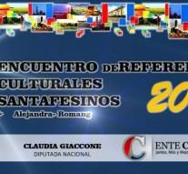"""El """"I Encuentro de Referentes Culturales Santafesinos"""" en Alejandra y Romang"""