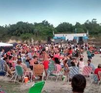 """Malabrigo: Más de 8000 personas en la """"Fiesta de la Arena Blanca"""""""