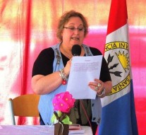El Intendente de Malabrigo felicita a Sonia Sager