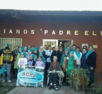 """San Antonio de Obligado: """"Cocineritos"""" visitó el Hogar de Ancianos"""