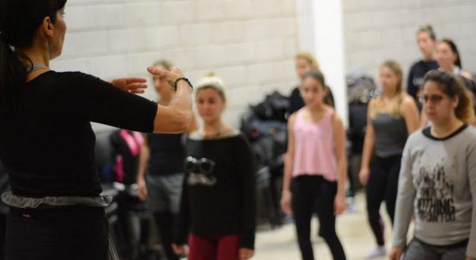 La Directora de la CNDC capacitó a bailarines del norte santafesino