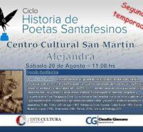 """La comunidad de Alejandra recibe el ciclo """"Historias de Poetas Santafesinos"""""""