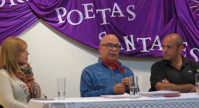 En Romang la poesía llegó con aromas costeros