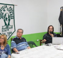 En la Biblioteca Jose M. Estrada de Las Toscas se presentó el Ente Cultural Santafesino