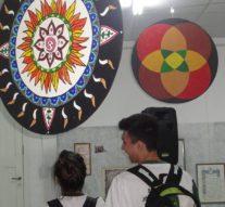 La Muestra de Mandalas llegó a la ciudad de Las Toscas