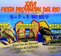 Alejandra: XXVI Fiesta Provincial del Río