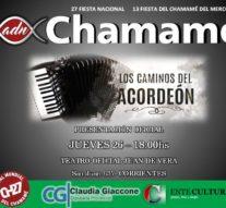 """""""Los Caminos del Acordeón"""" se proyectará en la Fiesta Nacional del Chamamé en Corrientes"""