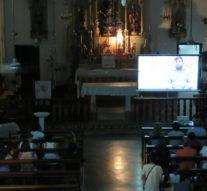 En el Templo histórico de San Antonio de Obligado se proyecto «Los Caminos del Acordeón»