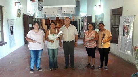"""La Muestra""""Ellas y la lucha por sus derechos"""" se inauguró en San Antonio de Obligado"""