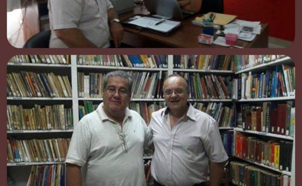 El Director de la Usina Cultural VII recorrió las comunidades del norte santafesino